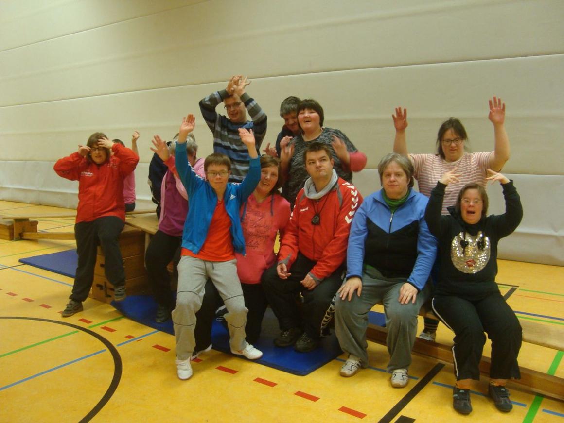 Gymnastik für Behinderte